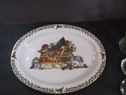 International China Susan Winget Over The House Tops 14 1/4 Platter