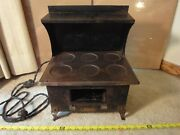 Rare Vintage 1915 Western Electric Junior Toy Range Stove, Style 6. Works