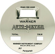 Warner Auto-meter Speedometer Face Cars And Trucks 1920s Graham Federal Buick Etc.