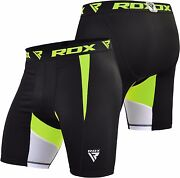 Rdx Kids Menand039s Mma Thermal Compression Shorts Flex Base Layers Boxing Exercise