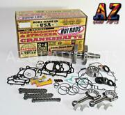 12-20 Brute Force 750 Bottom End Hotrods Crank Rods Rebuild Ngk Plugs Cam Chains