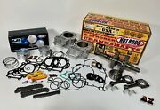 12-20 Brute Force 750 Cylinders Crank Rods Cp Pistons Motor Rebuild Cam Chains