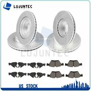 Front Rear Ceramic Pads And Rotors Discs Brake For 2006 Bmw 325i 2007 Bmw 328i