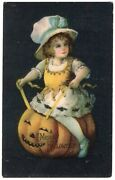Halloween Postcard, Ellen Clapsaddle, Series 1901 Published By Wolf And Co.