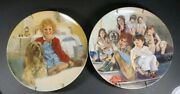 2-little Orphan Annie Collector Plates, Annie And Sandy And Annie And The Orphans