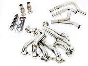 Obx Catted Long Tube Header For 00-02 Camaro Firebird Trans-am Ls1 5.7l F-body