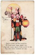 Halloween Postcard, Published By Tuck Raphael And Sons, Series 100, Smucker.