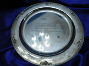 Georg Jensen Acorn Large Sterling Silver Tray- Excellent Condition