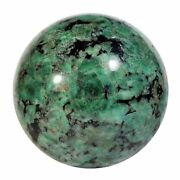 Emerald In Matrix 3.7 Inch 2.7 Lbs Natural Crystal Sphere - Brazil