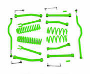 Fits Jeep Wrangler Jk Neon Green Suspension Lift Kits Made In Usa J0044933