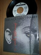 Nm 1988 Terence Trent D'arby Dance Little Sister Demo 7 45rpm W/pic Slv