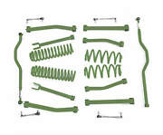 Fits Jeep Wrangler Jk Locas Green Suspension Lift Kits  Made In Usa J0046958