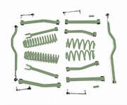 Fits Jeep Wrangler Jk Locas Green Suspension Lift Kits  Made In Usa J0047749