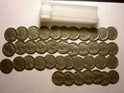 Buffalo Nickels Full Roll = 40 Coin Of Partial Dates With Bonus Coins R868