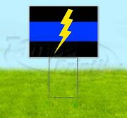 We Support Swat 18x24 Yard Sign Corrugated Plastic Bandit Lawn Usa Police