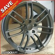 18 Rs4 Mg Style Alloy Wheels + Tyres Fits - Audi A3 A4 A6 Tt Pcd 5x112