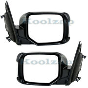 For 09-15 Pilot Rear View Door Mirror Power Heated W/o Memory W/signal Set Pair