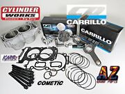 Polaris Rzr Xp 1000 Cylinder Cp 93mm 10.51 Pistons Rods Gaskets Kms Head Studs