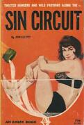 An Ember Book Eb936 Sin Circuit By Don Elliott Vintage Sleaze Paperbck Rare