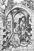 Martin Schongauer The Nativity Artist Painting Reproduction Handmade Oil Canvas