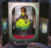 Disney Designer Premiere Collection Tiana Limited Edition Doll New
