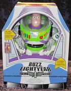 Disney Toy Story Interactive Talking Buzz Lightyear Action Figure Doll New