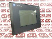 Allen Bradley 2711-t10g10 Panelview 1000 Grayscale Terminal 10.4 Inch - Used ...