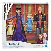 Frozen 2 Arendelle Royal Family Doll Set Exclusive Queen Iduna King Agnarr Young