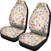 Corgi Dog Pet Car Seat Cover - Set Of 2 Front Seat Covers Protection Decoration