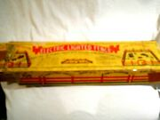 Vintage Seco Mfg Electric Lighted Fence For Farm Toy Sets-original Box