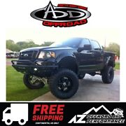 Add Stealth Front Winch Bumper Black For 2004-2008 Ford F150 4x4 Truck