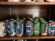 Star Wars Episode 1 Collectible Pepsi And Mountain Dew Cans Numbers 1-24