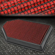 For 11-18 Dodge Charger/challenger High Flow Drop-in Panel Dry Air Filter Red