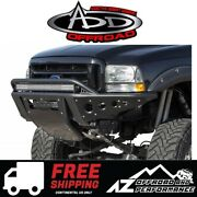 Add Stealth Front Bumper For 99-07 Ford Super Duty F250 F350