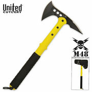 M48 Tactical Tomahawk Axe Rescue Yellow And Sheath Uc2820 Free Shipping Usa