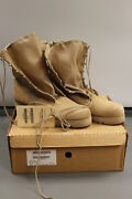 Us Military Issued Tan Combat Boots Size 16r 8430-01-514-5253 New