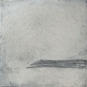 Abstract Art Painting. B.hachmann From Germany. Mixed Media On Canvas. 10x10 In.