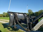 Snow Plows Used-bobcat 60 Snow Blade For Uniloader Or Tractor-s/n 610700171