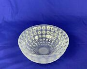 R. Lalique Nemours Frosted Crystal Bowl C. 1930