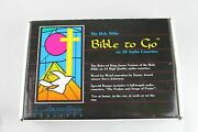 Holy Bible To Go 48 Audio Cassettes King James Version In Carrying Case Vintage