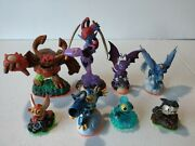 Activision Skylanders Mixed Lot Of 8 Figures Nice Lot Fast Shipping F1
