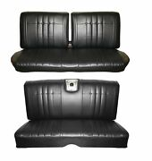 1966 Impala Coupe Front And Rear Bench Seat Upholstery And Door Panel Set, Any Color