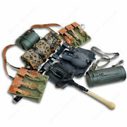 Ww2 German Army Reenactments Equipment Collection Mp44 Canvas Field Gear Package