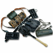 Ww2 German Army Reenactments Equipment P38/40 Leather Pouch Field Gear Package