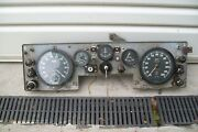 Jaguar Early 1950,s Instrument Panel With Gauges And Switches As Per Photos