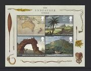 2018 Gb Qe2 Stamp Miniature Sheet Captain Cook And The Endeavour Voyage