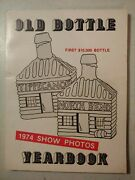 Vintage Old Bottle 1974 Show Photos Yearbook Tippecanoe North Bend Whiskey D1