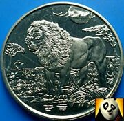 2006 Sierra Leone 1 One Dollar Lion King Of The Wildlife Uncirculated Coin