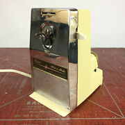 Vintage Kitchen Retro Table Top Travel Can Opener Electric Knife Sharpener Mid C