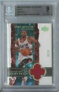 Shareef Abdur-rahim 2003 04 Ud Exquisite Collection Gold Patch 10/10 Bgs 9
